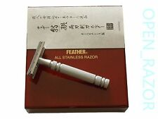 Feather AS-D2 All Stainless Steel Double Edge Razor
