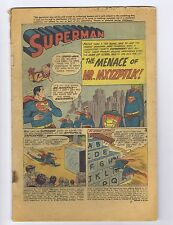 Superman 131 Coverless o/w complete! (PG-GD $34) Silver Age 1959 (c#02741)