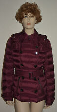 NWT BURBERRY BRIT WOMENS QUILTED PUFFER DOWN COAT JACKET SZ LARGE