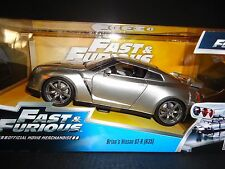 Jada Nissan GT-R R35 Brian's Car Silver Fast and Furious 1/24