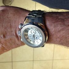 Invicta Reserve Bolt Sport Double Cable Swiss Made Movement Roman Numeral Dial