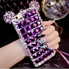 NEW COOL DIAMOND MICKY MINNIE BLING DIAMANTE CASE COVER GIFT FOR IPHONE 6 6S 7