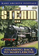 THE STEAM ERA DVD - STEAMING BACK TO MARYLEBONE - RARE ARCHIVE FOOTAGE