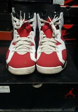 2014 Nike Air Jordan VI 6 Retro CARMINE 10.5 used