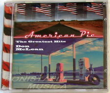 DON McLEAN - AMERICAN PIE THE GREATEST HITS - CD Sigillato