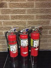 FIRE EXTINGUISHER 5LBS 5# ABC  NEW CERT TAG LOT OF 3  (SCRATCH/DIRTY)