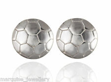 925 Sterling Silver Football Cufflinks. Cuff links.
