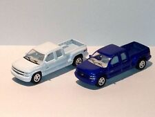 WELLY MINIATURE LOT 2  1999 Checrolet Silverado Truck DIE CAST W/ PLASTIC PARTS