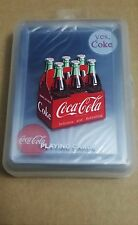 Coca-Cola clear Playing cards plastic Deck 100% waterproof!