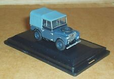 "OXFORD DIECAST LAND ROVER SERIES 1 80"" CANVAS RAF 1:76 SCALE MODEL CAR VEHICLE"