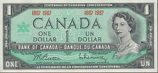 1867 1967 $1 Dollar Beattie Rasminsky - UNC - Bank of Canada