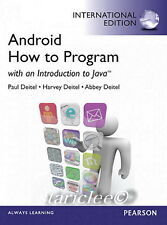 NEW Android How to Program With an Introduction to Java 1E Harvey Paul Deitel