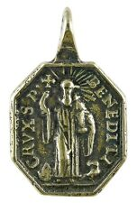 ST. BENEDICT / CROSS OF ST. BENEDICT Medal, bronze from antique Italian original