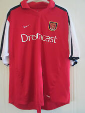Arsenal 2000-2002 Home Football Shirt Adult Size XXL Gunners /40081 Player issue