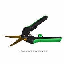 Shear Perfection 2 inch Titanium Curved Pruning Trimming Garden Shears Scissors