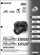 FujiFilm FinePix S9000 and S9500 Digital Camera User Guide Instruction  Man