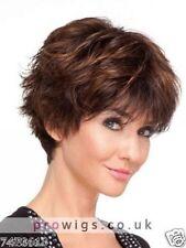100% Real hair! Fashion wig New Women's Short Brown Straight Human Hair Wigs