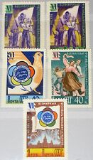 Russia Unione Sovietica 1957 1945-49 a 1936-40 6th World Youth Festival Moscow MNH