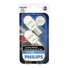 NEW Philips VisionLED 1156 P21 LED car lamp 12839REDB2 W21/5 Red Stop light