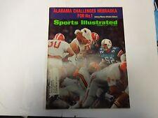 1971 Sports Illustrated Alabama Challenges Nebraska For No.1 Cover December 6th.