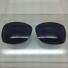 Oakley Obligation custom made replacement lenses Black polarized NEW!!