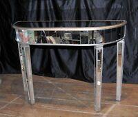 Art Deco Mirrored Console Table Mirror Furniture