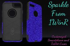 "Otterbox Commuter Series Custom Glitter Case for 4.7"" iPhone 7 Marine Blue/Black"