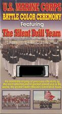 U.S. Marine Corps Battle Color Ceremony Featuring The Silent Drill Team VHS