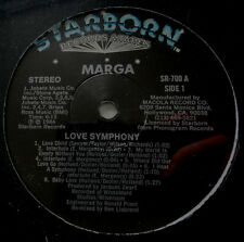 """12"""" US**MARGA - LOVE SYMPHONY / IN THE NIGHT (STARBORN '84 / SEALED)***22085"""