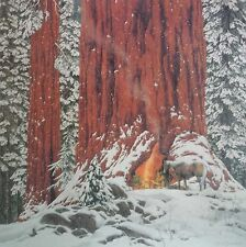 """Bev Doolittle """"Christmas Day, Give or Take A Week""""  WSS Limited Edition"""