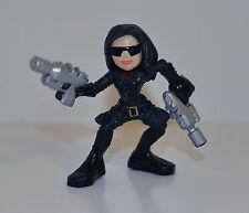 "2009 The Baroness Cobra 2.25"" Hasbro Combat Heroes G.I. Joe Action Figure"