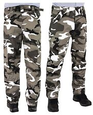 Men's Big Size  Army Cargo Combat  Work Trousers/Pants Size 28-62
