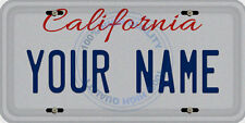 Personalized Custom California Car Vehicle License Plate Auto Tag