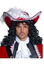 Adult Men's Teen's Authentic Pirate Hat Captain Hook Fancy Dress Stag Fun
