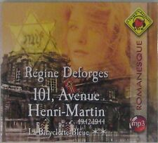Régine Deforges La Bicyclette bleue 101 Avenue Henri Martin Livre Audio VDB MP3