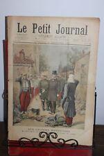 Petit journal supplément illustré N°253 1895 Le Président à la soupe du soldat