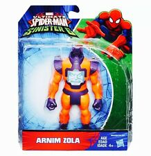 "MARVEL'S Arnim Zola SPIDER 6"" ACTION FIGURE SPIDER-MAN vs i SINISTRI 6 Ragazzo 4+"