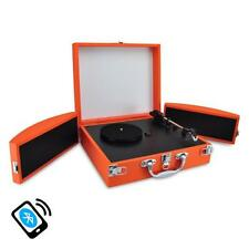 PVTTBT8OR Bluetooth Classic Turntable & Speakers MP3 Recording AUX Rechargeable
