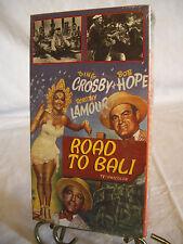 """Vintage VHS Video Tape Movie - Bob Hope, Bing Crosby in """"Road To Bali""""  1952"""