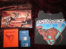 Shadow of the Beast AMIGA 1989 Psygnosis w/Big Retail Box & T-Shirt TESTED
