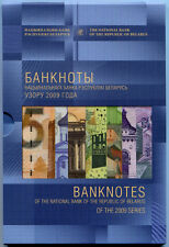 """BELARUS RARE SET BANKNOTES 2009 """"MY COUNTRY - BELARUS"""" 885 RUBLES. ONLY 1000 PCS"""
