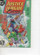 JUSTICE LEAGUE EUROPE 2 MAY 1989 VERY FINE