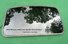 2004 MERCURY SABLE YEAR SPECIFIC  SUNROOF GLASS OEM NO ACCIDENT!  FREE SHIPPING!