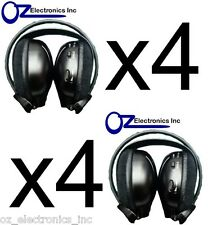 4x Headphones wireless Compatible with Alpine Toyota Klugar Holden car DVD syst