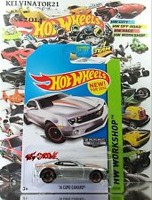 Hot Wheels 2014 #229 '14 Copo Camaro® ZAMAC,#001,WALMART U.S. EXCLUSIVE ONLY