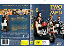 Two and A Half Men:Complete Season 2-2003/2013-TV Series USA-4 Disc Set-DVD