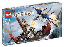7016 VIKING BOAT VS. WYVERN DRAGON lego retired sealed NISB legos set NEW