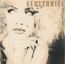 Eurythmics 'Savage' CD album, 1987 on RCA