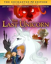 The Last Unicorn (Mia Farrow Jeff Bridges) New Blu-ray RegA