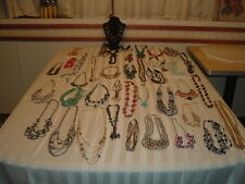 NECKLACES LOT OF CLEAN+,WEARABLE/COMBINATION,STATEMENT JEWELRY